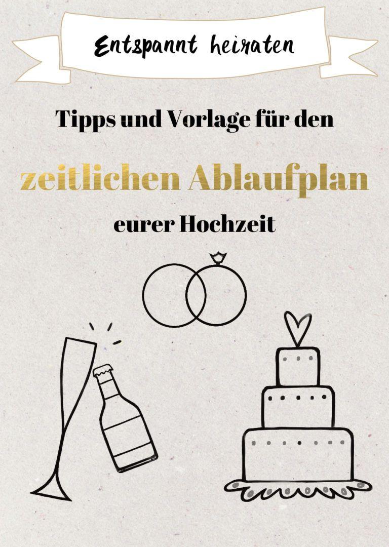 Tipps Fur Den Zeitlichen Ablaufplan Fur Die Hochzeit Excel Vorlage Tagesablauf Hochzeit Ablaufplan Hochzeit Ablauf