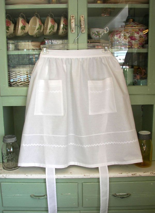 Half Aprons For Women Old Fashioned Women Half Aprons