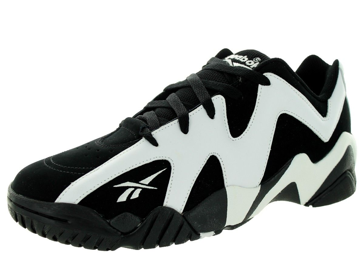8e9ab761cc37 Reebok black and white shoes