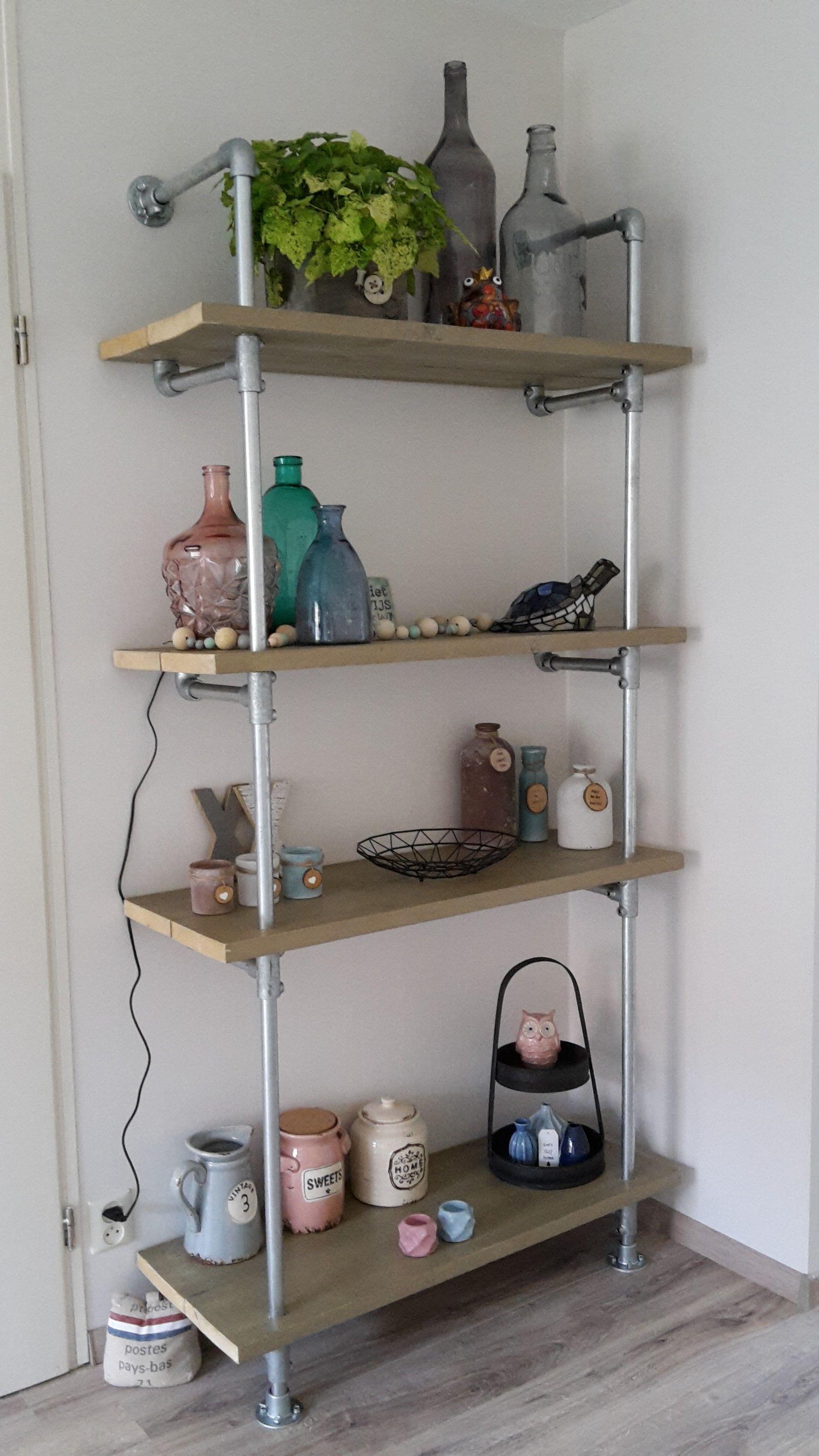 Onze Eigen Gemaakte Steigerbuissteigerhout Kast Furniture
