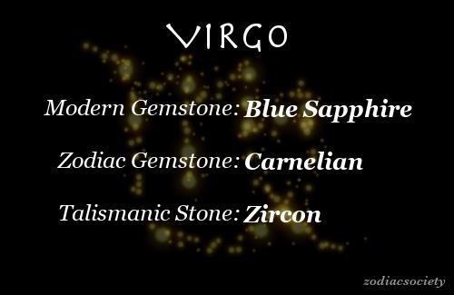 Zodiac Society - virgo