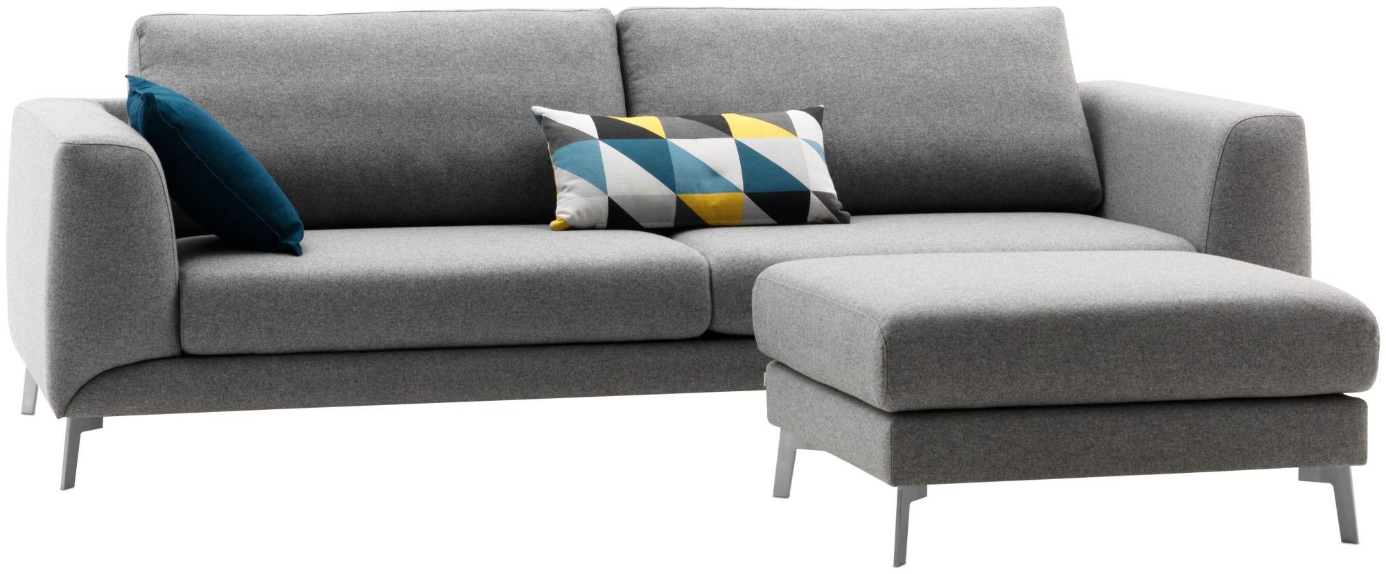 Sofas - Carmo sofa - Gray - Fabric | Boconcept, Gerade