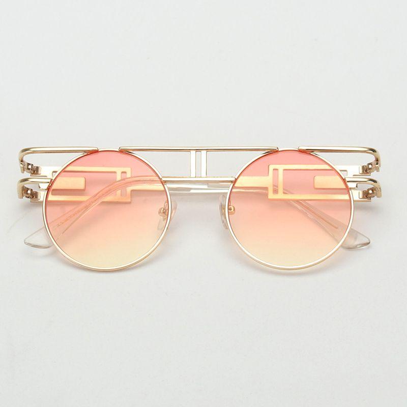 Royal girl qualidade de armação de metal homens góticas steampunk óculos de  sol das mulheres designer de marca rodada óculos de sol do vintage óculos  ss211 ... 9bd7baab7b