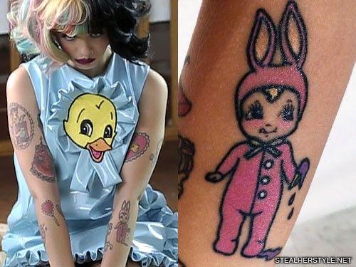 Melanie Martinez Strawberry Upper Arm Tattoo Steal Her Style Strawberry Tattoo Melanie Martinez Crybaby Melanie Martinez