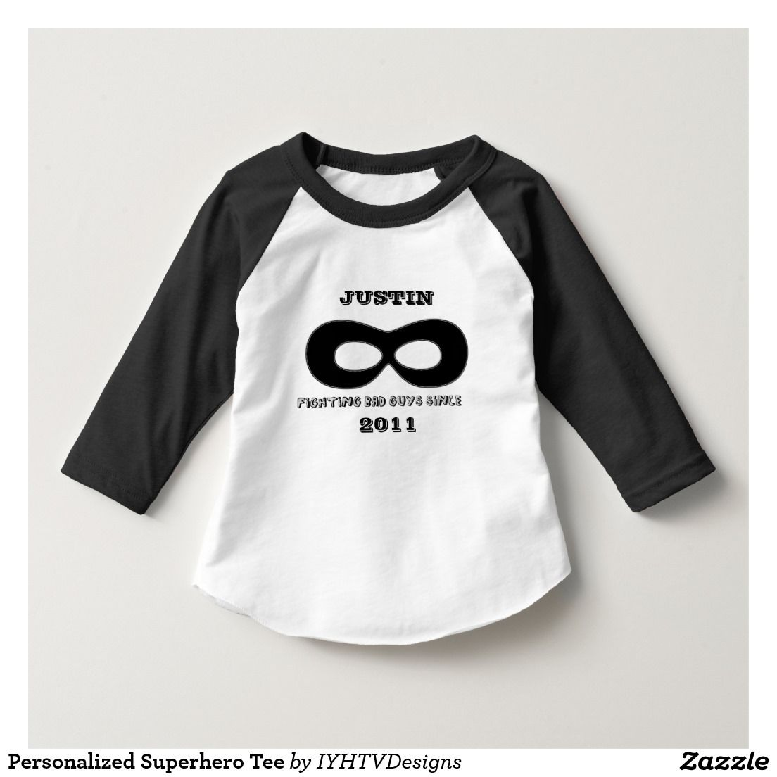 Personalized Superhero Tee