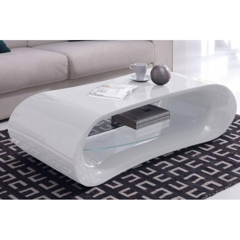 Table Basse Design En Verre Longueur 130cm Hayle Blanc Table Basse Design Table Basse Table Basse Blanc Laque