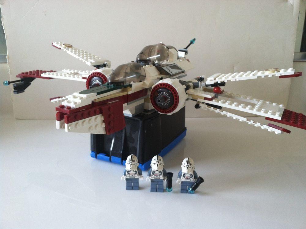 Lego Star Wars Arc 170 Starfighter 7259 100 Complete