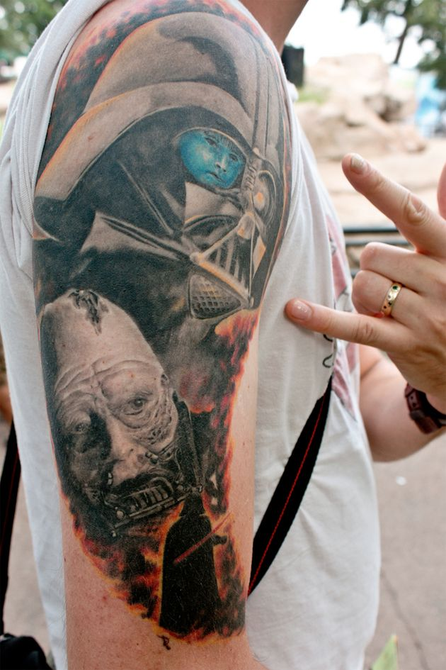 Awsome Vader Tattoo Star Wars Tattoos Star Wars Tattoo