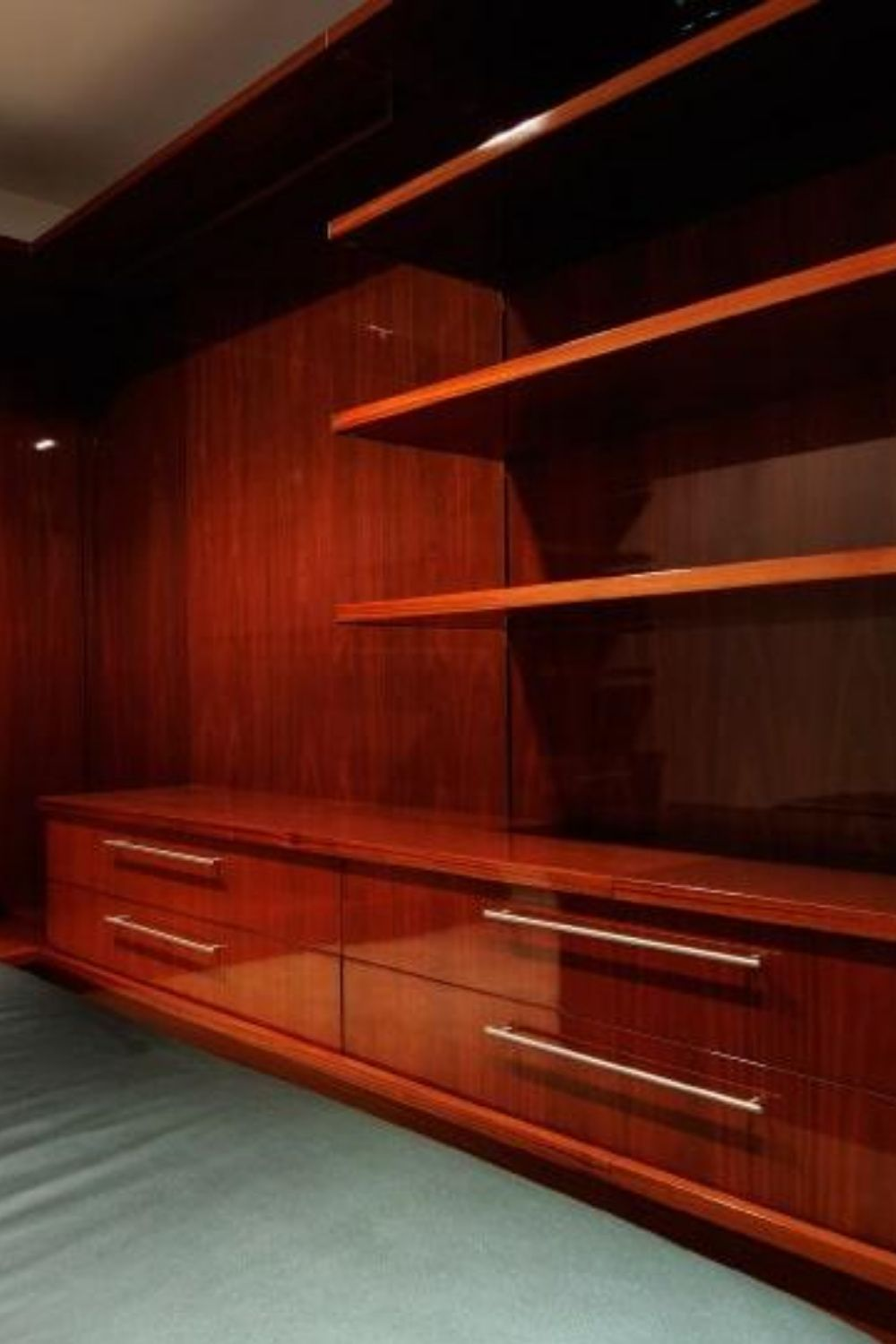 40 Walk In Closets For Men Dark And Luxurious In 2020 Wood Bedroom Storage Simple Closet Storage