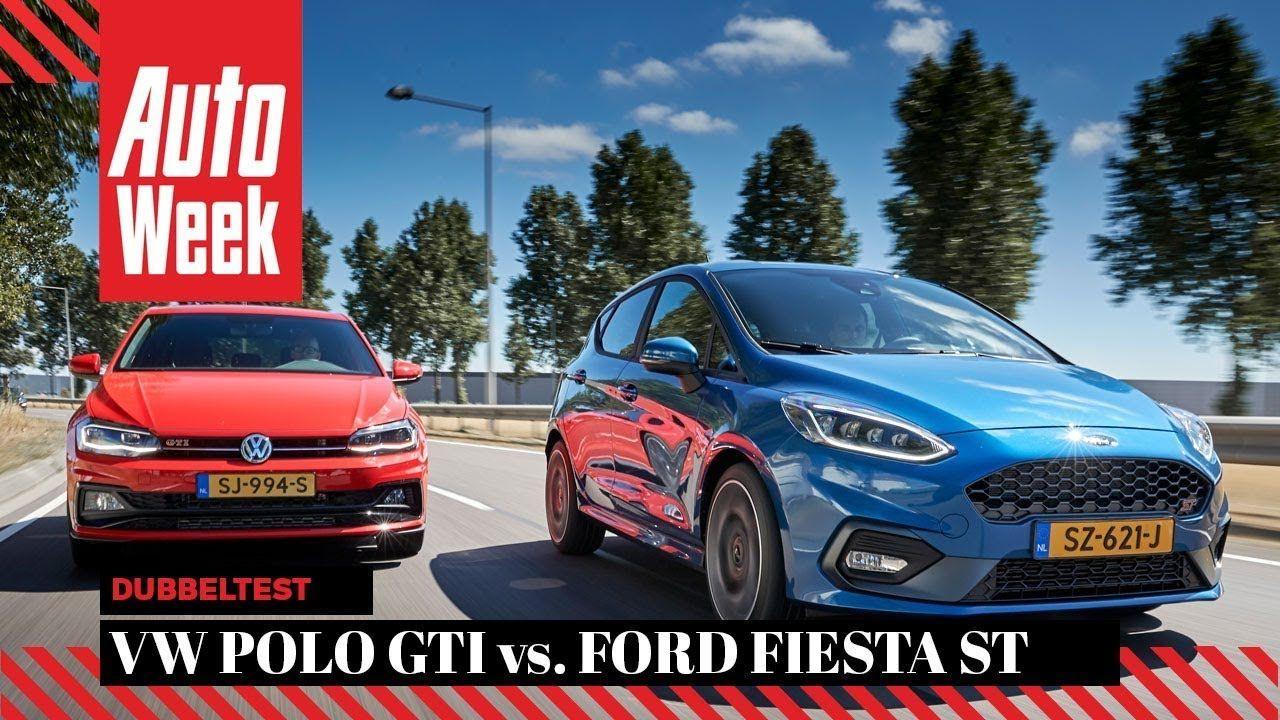 Ford Fiesta St Vs Volkswagen Polo Gti Autoweek Dubbeltest English Subtitles Vwpologti Volkswagen Polo