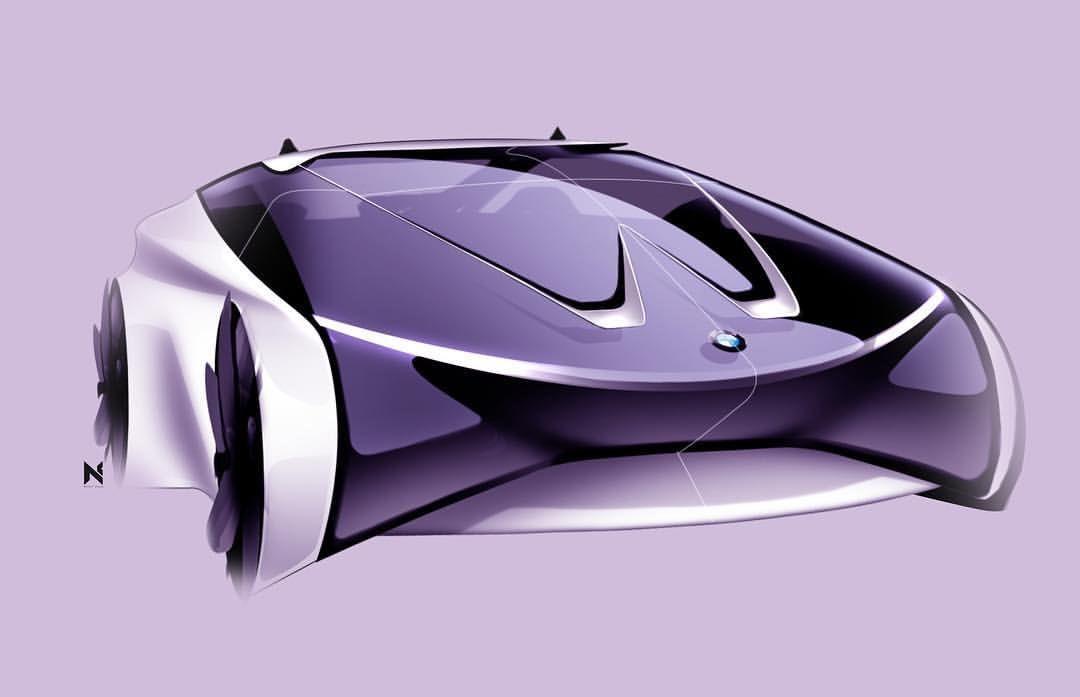 BMW Sketch 2 @nickybchandesign   My Work   Pinterest