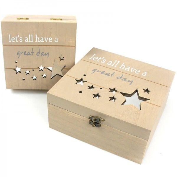 Holzbox Kim Stern Gross Box Geschenke Und Holz