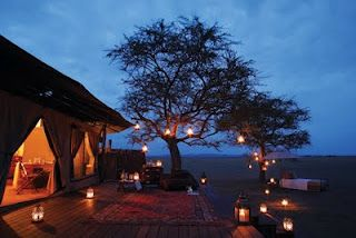 Luxury Tented Camps,  Serengeti