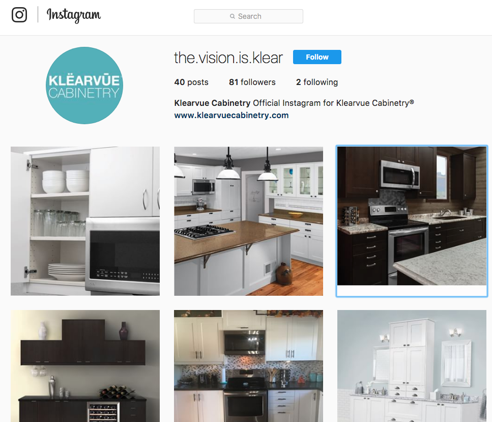 Check Out The Klearvue Cabinetry Instagram Page For More Pictures Of Klearvue The Vision Is Clear Cabinetry Kitchen Kitchen Appliances