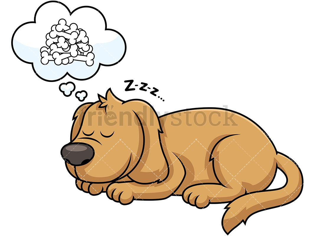 Sleeping Dog Dreaming About Bones In 2020 Sleeping Dogs Dogs