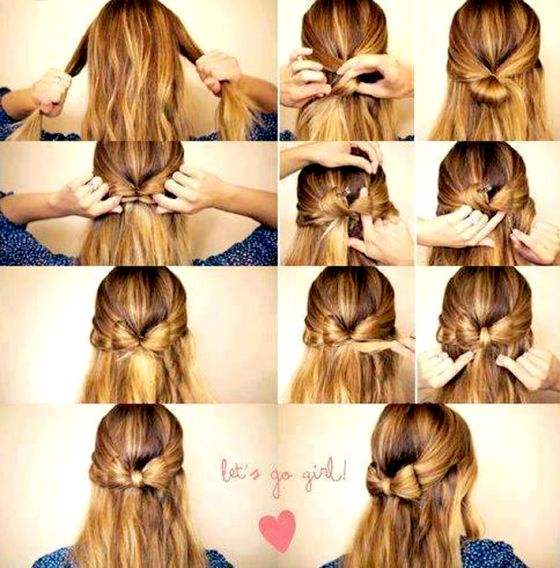 Noeud Cheveux Hair And Braids Pinterest Cheveux Coiffure And