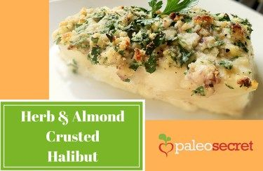 Herb & Almond Crusted Halibut