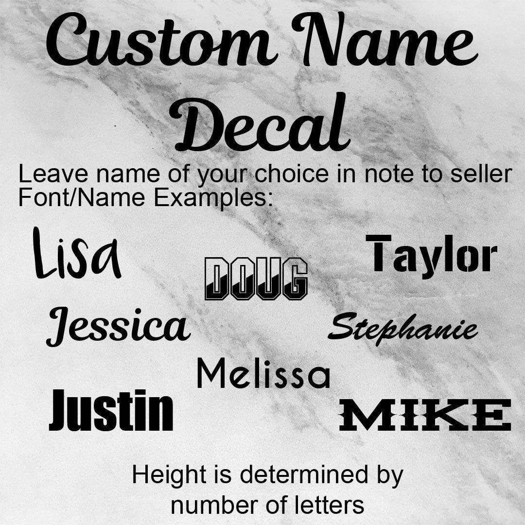 name decal custom yeti decal name labels label decal office cup