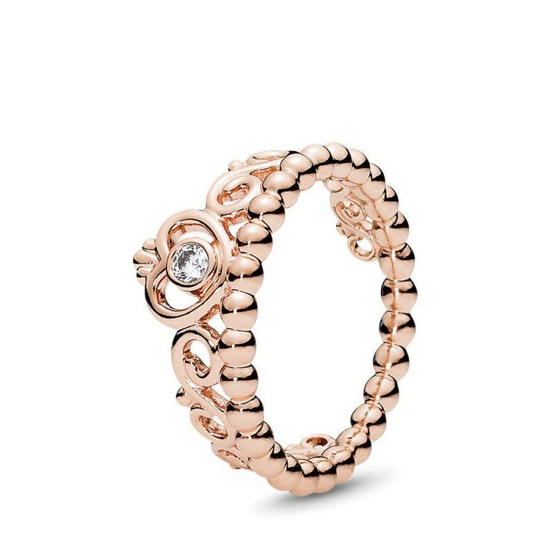 anello pandora tiara cuore