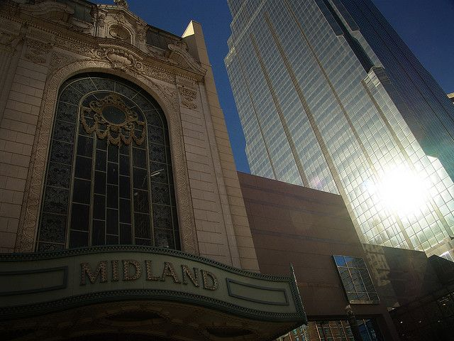 Midland Theater, downtown KC.....best place to view a concert....