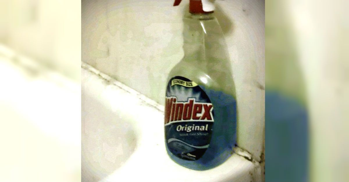 how to clean wedding ring with windex