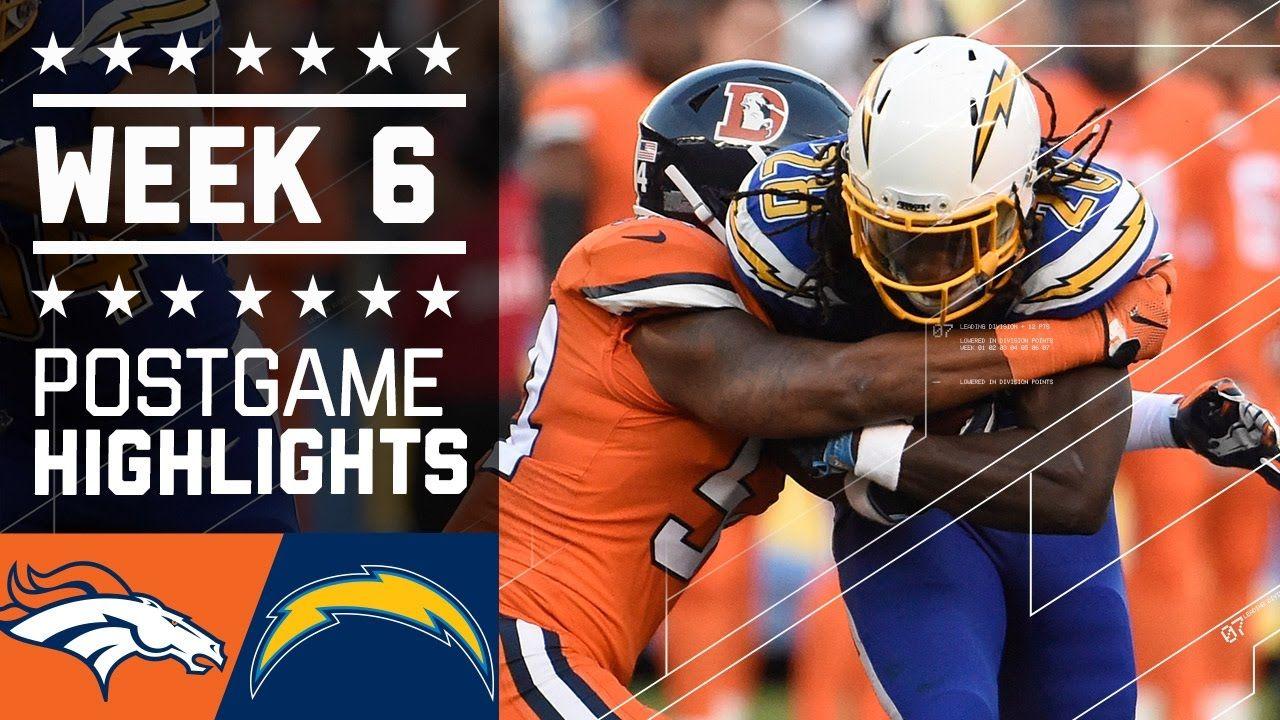 Broncos vs. Chargers (Week 6) Game Highlights NFL