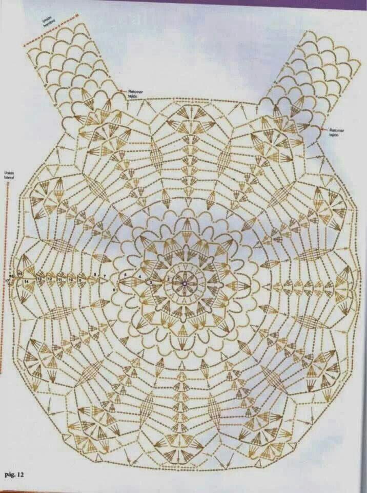 Pin de Leedie Grace en Crochet Clothes | Pinterest | Ganchillo ...