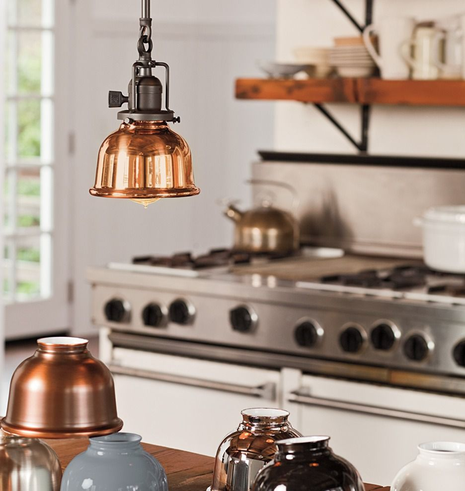 George industrial kitchens and lights