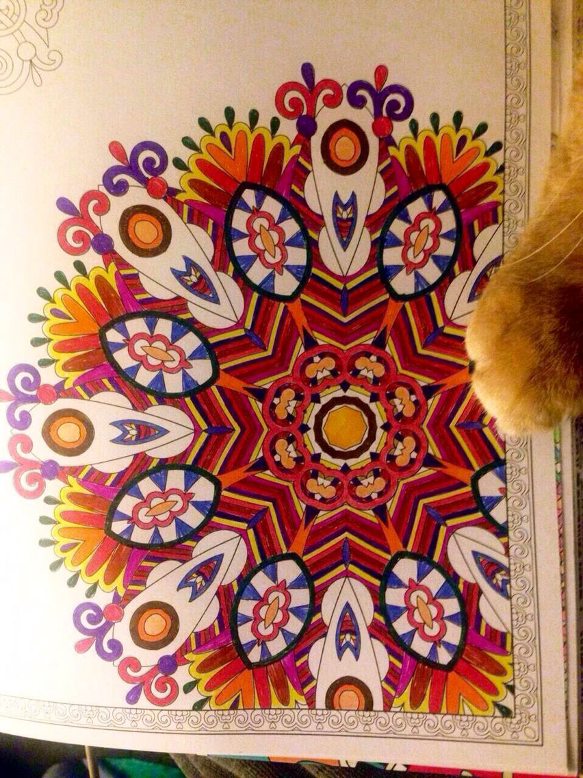 Coloring # mandala
