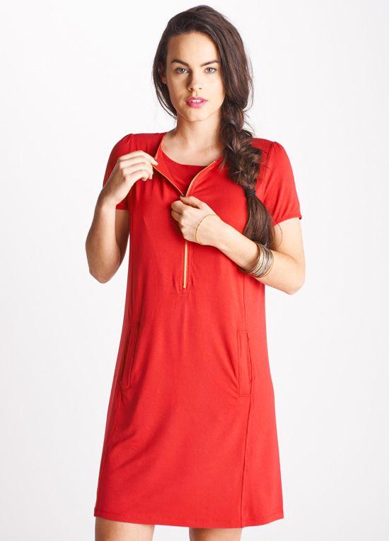 Floressa Aster Zip Nursing Dress On Sale Nursing Dress Breastfeeding Dress Dresses
