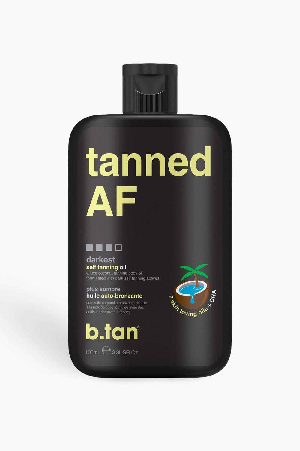 B Tan Tanned Af Tanning Oil Parcel Collection Pastel Nails