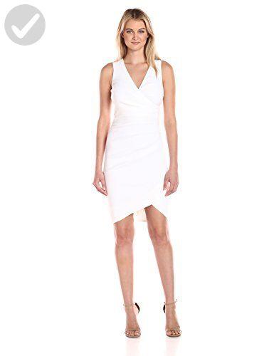 a59d16bed98 Nicole Miller Women s Stefanie Stretch Linen Dress