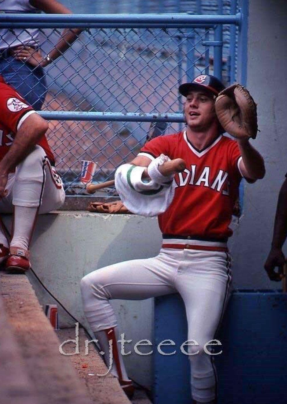 Rick Manning Cleveland Indians Cleveland indians
