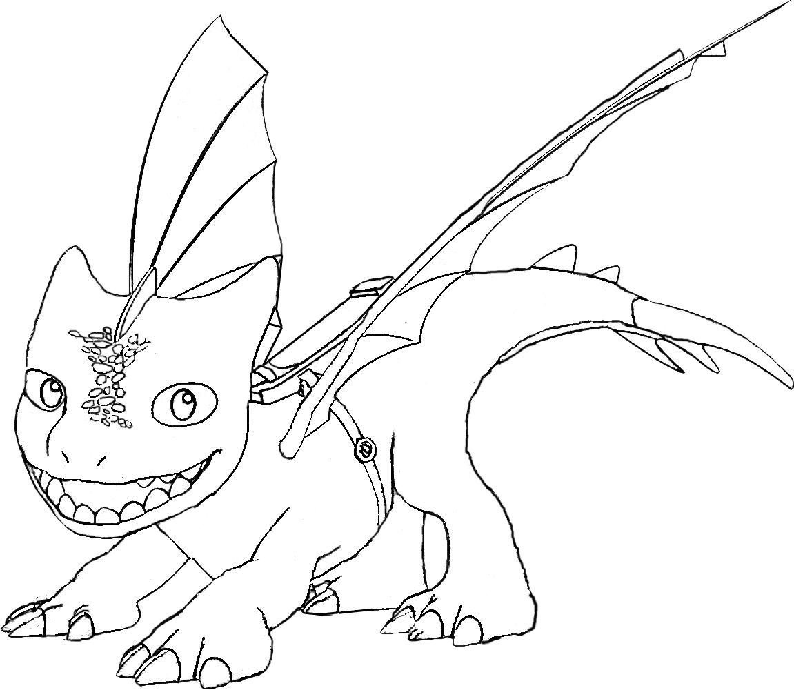 Winger Coloring Page Dragon Rescue Riders  Dragon coloring page