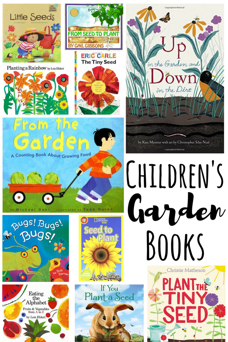 Children S Garden Books A Fun Way To Learn About Gardening With