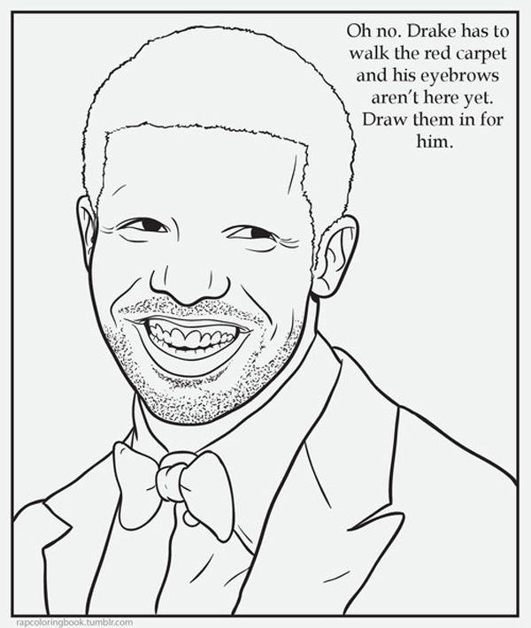 Rap Coloring Book - Funny Tumblrs | Coloring books