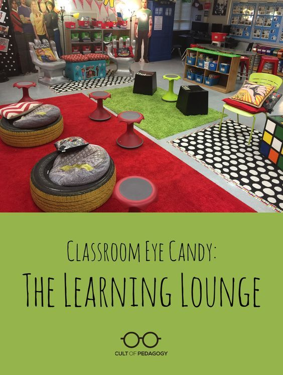 Classroom Design And Student Learning : Classroom eye candy the learning lounge