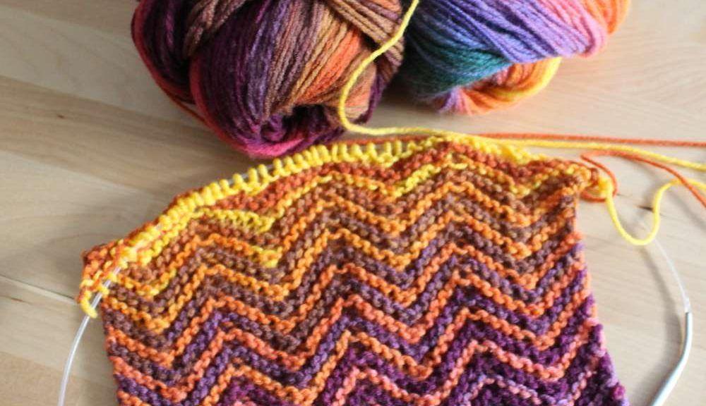 Mein dritter ZickZack Schal. | AnneluM | Muster | Pinterest | Schals ...