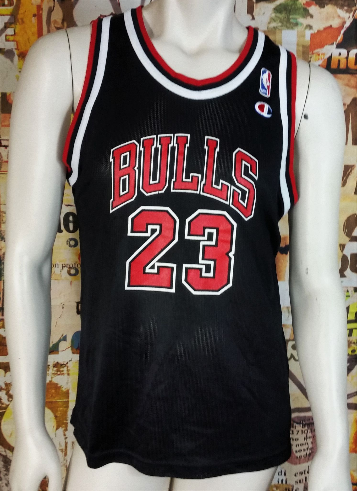 220ba0769 Michael Jordan Champion Jersey Vintage Chicago Bulls NBA Rare Youth Large XL
