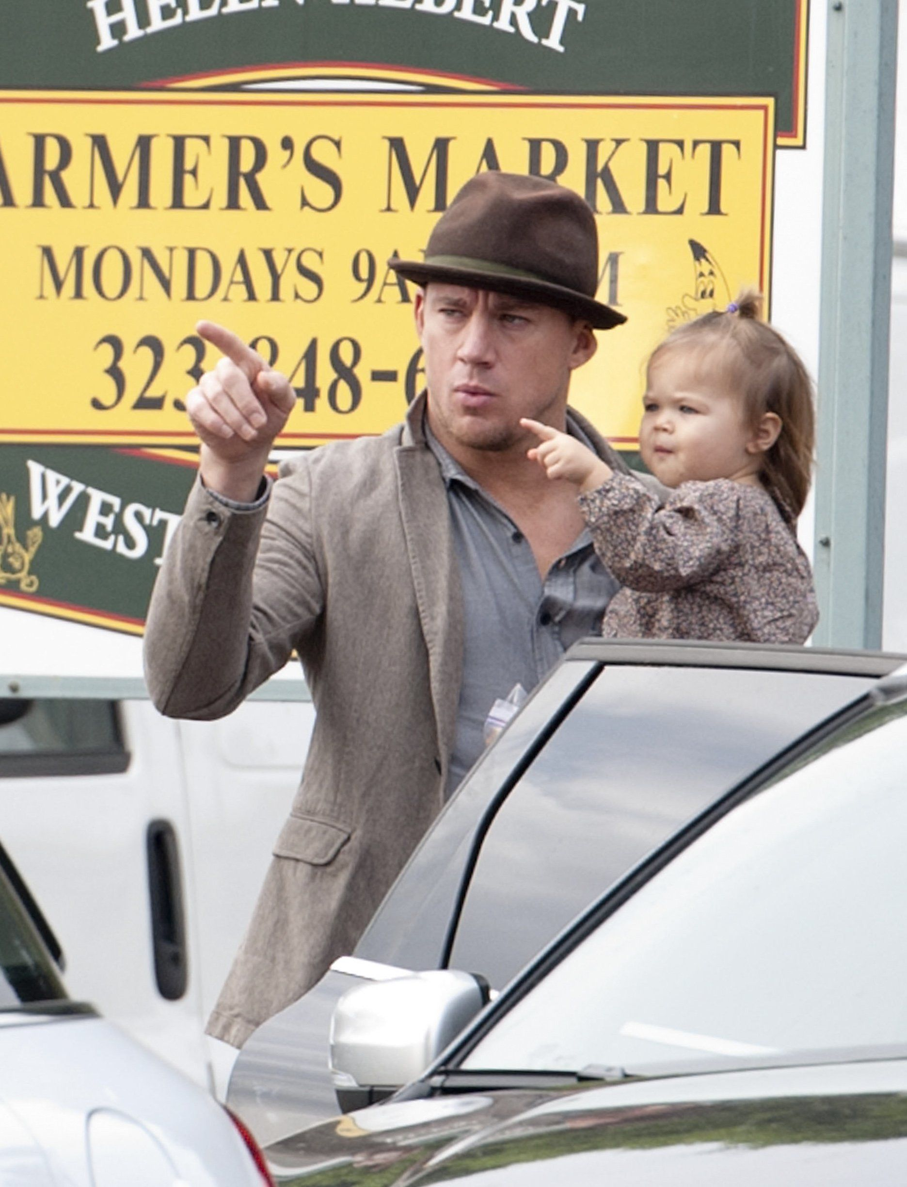 Channing Tatum - The Magic Mike star and his daughter Everly appear to be headed in the right direction with their off-duty style.