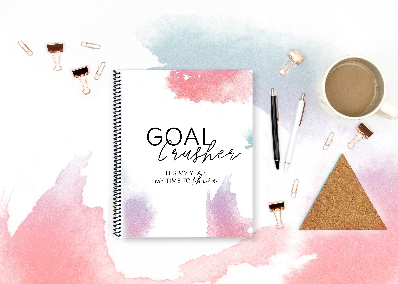 Goal Crusher Planner Goal Planner Goal Worksheet