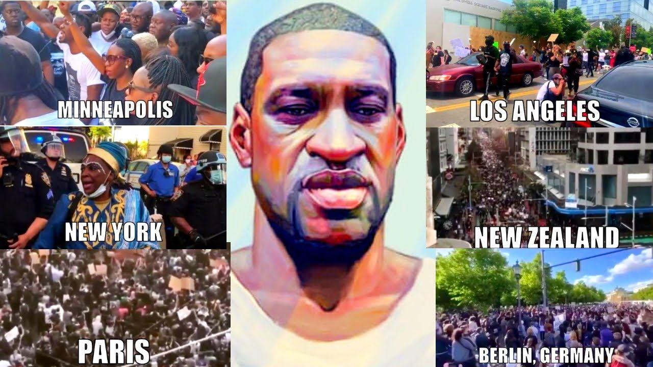 Black Lives Matter Global Protest Tribute Justice For George Floyd Black Lives Matter Protest Black Lives Matter Movement Black Lives Matter