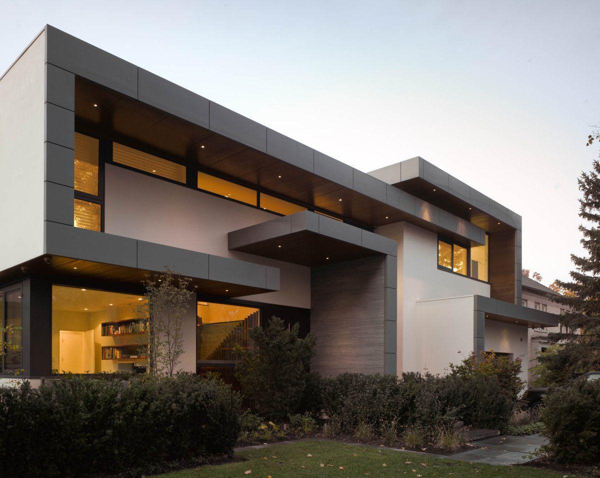 Architecture, Impressive Modern Home in Toronto, Canada ...