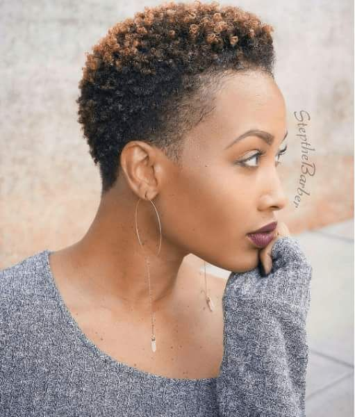 Lord Lady Your Hair Is Neat Phew Love This Twa Short Natural Hair Styles Short Natural Haircuts Natural Hair Styles