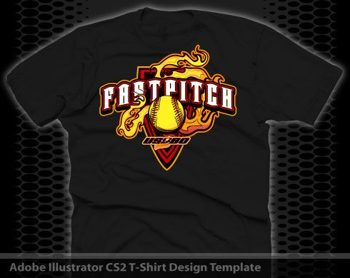 Fastpitch clip art fastpitch flame shirt design for Softball logos for t shirts
