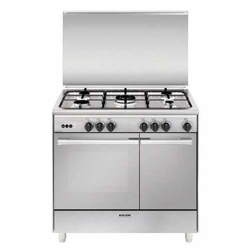 Prezzi e Sconti: #Glem gas ur965vi cucina a gas 90x60cm porta ad ...