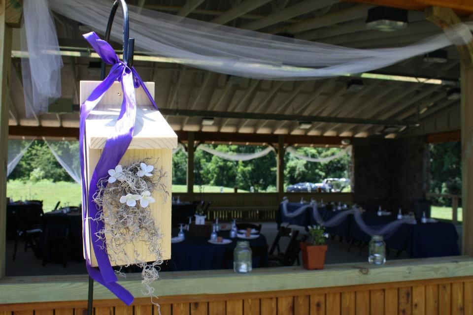 Wedding Decorations At Adams County Winery Just Outside
