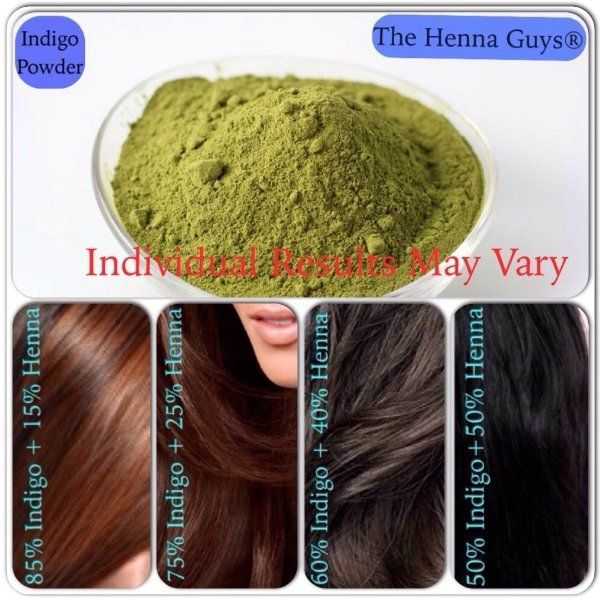 Indigo Powder For Hair Dye 300 Grams The Henna Guys Beauty