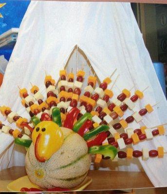 Aunt Darcy Teaches Mom To Turn A Pumpkin Into Turkey Creative Thanksgiving Decoration Idea