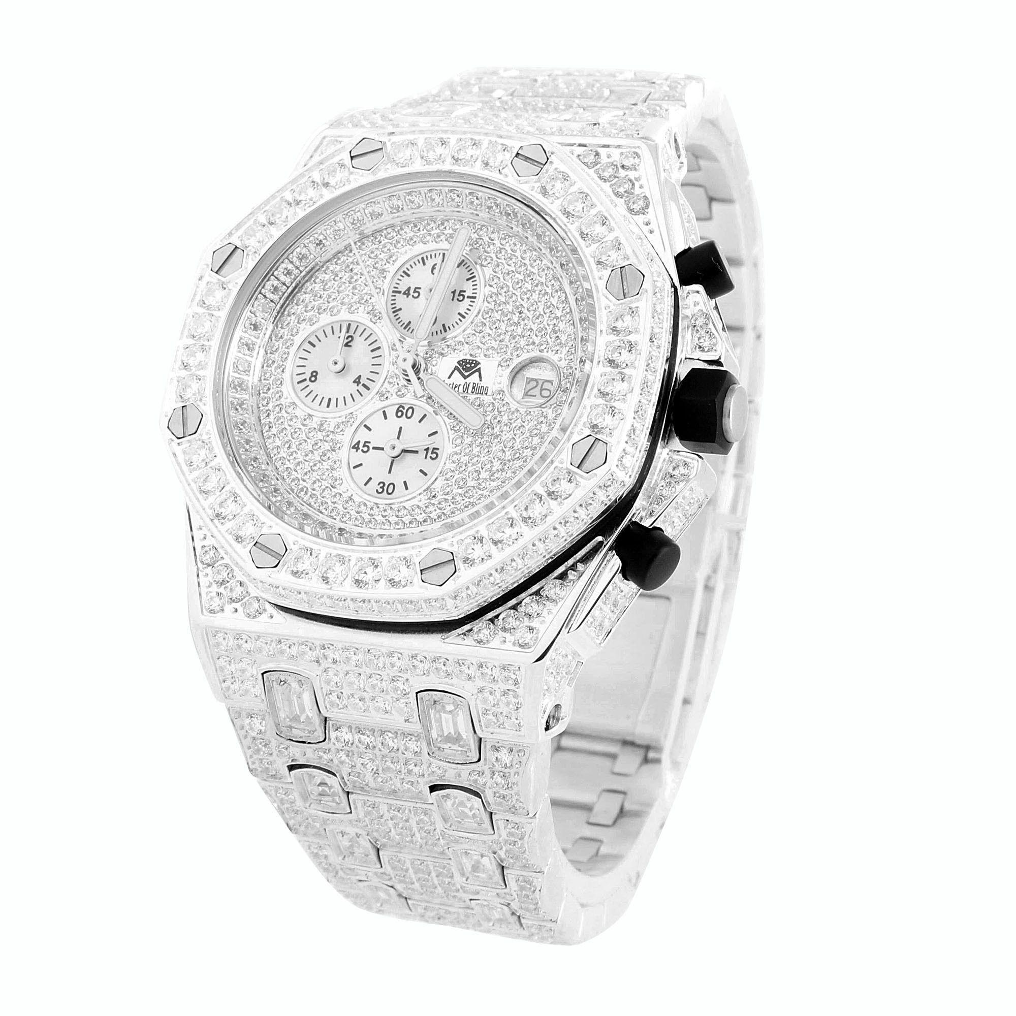 5de3da10d50d3 Mens Iced Out Joe Rodeo Jojino Master Of Bling AP-01 Watch | To look ...